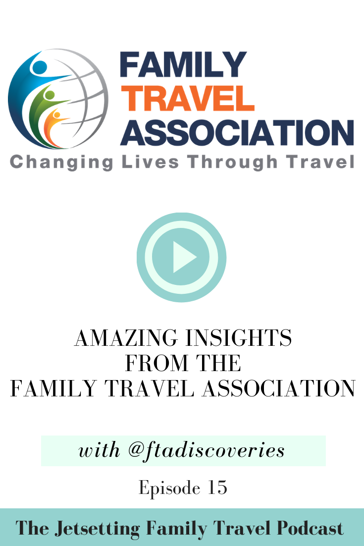 This week we are joined by Rainer Jenss, President and Founder of the Family Travel Association. The FTA's mission is to inspire families to travel more, and we are thrilled to chat with Rainer about how the FTA does just that! Through their annual family travel summit and a variety of surveys, the FTA is an important advocate for families facing barriers to travel.